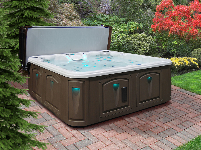 Relax in a comfortable Clearwater Spa from Finken!