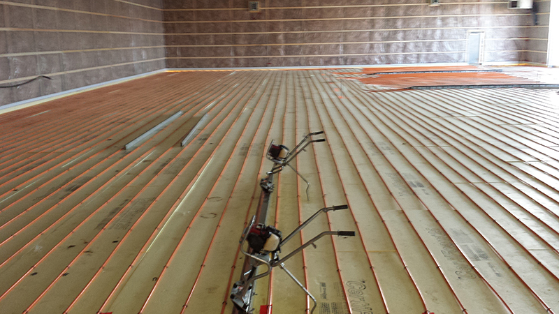 In-Floor Radiant Heat System